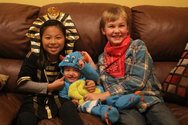 Pharoah Li Li, Monster Micah and Cowboy Ko-Bob